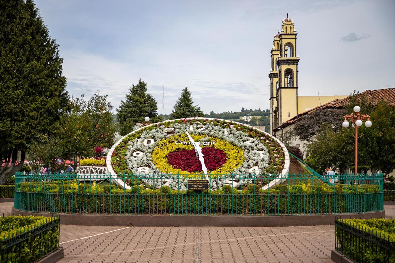 Regresan especies naturales al Reloj Floral de Zacatlán