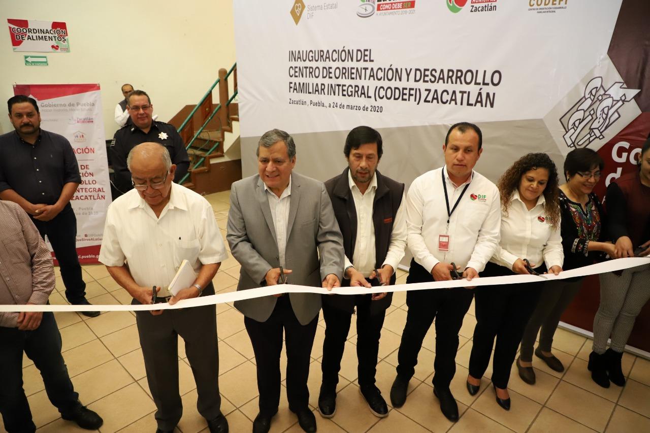 Zacatlán inaugura primer Centro de Orientación y Desarrollo Familiar