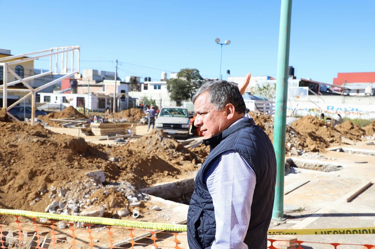 Instruye Márquez Lecona mejorar Unidad Deportiva Bicentenario