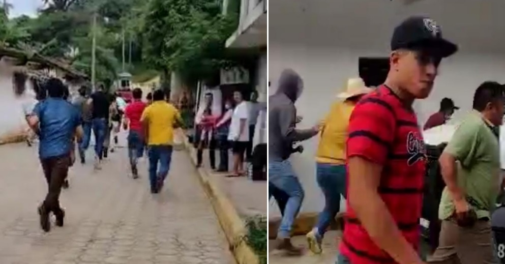 Edil de Zapotitlán amedrenta electores con grupos de choque