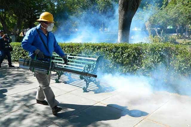 Continúan acciones contra dengue y zika en región de Tehuacán