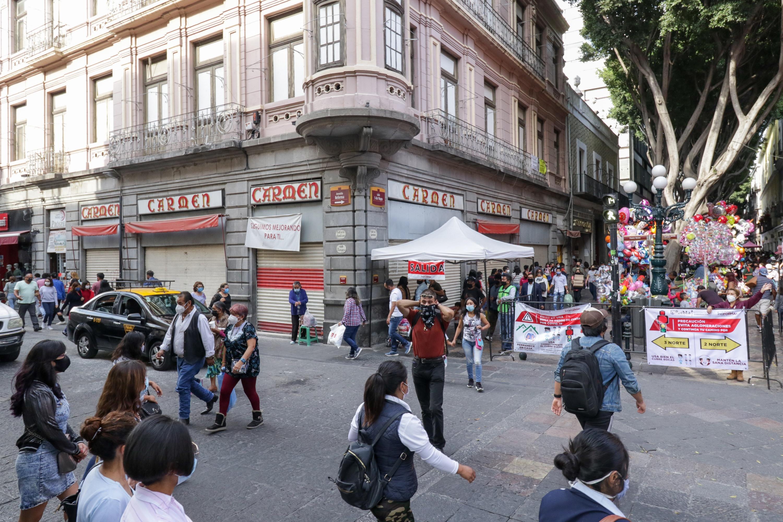Reporta federación solo 117 contagios de Covid en 24 horas en Puebla