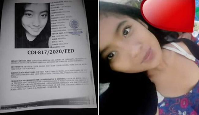 Camila Zoe desapareció en la Colonia Villa Verde en Puebla